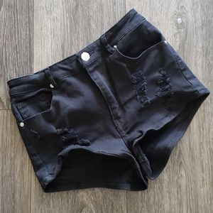 Distressed Jean Shorts by Divided H&M